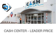 supermarché cash center