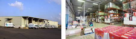 Plateforme logistique Djibouti