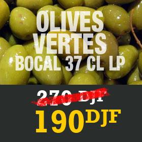 Olives vertes bocal