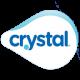 logo eau minéralisée crystal